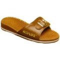 Massage Sandal Brown Toe Strap w/Buckle