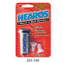 Rock 'n Roll Series - Performance Ear Filters - 1 pair with case